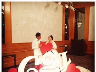 平愛梨、結婚式から丸2年経過も「好き度変わってない」 ノロケ投稿に反響