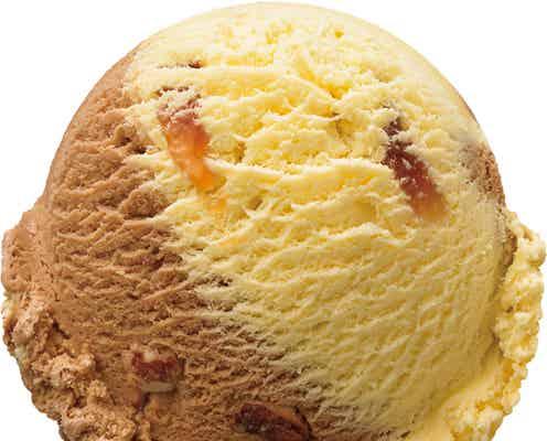 サーティワン「ハッピーバターアーモンド」韓国人気菓子の美味しさ表現した幸せフレーバー