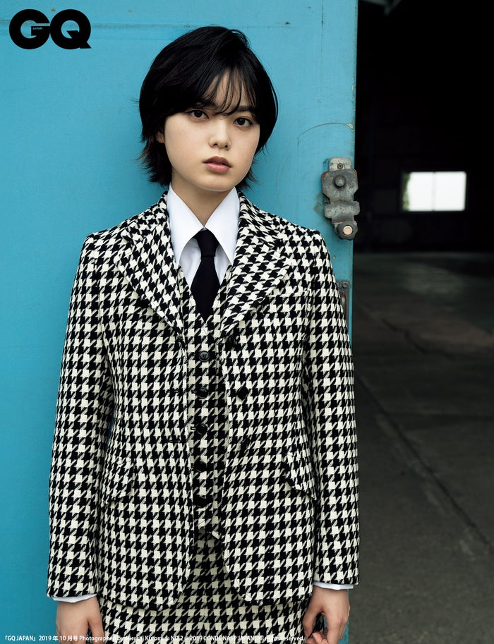 平手友梨奈/『GQ JAPAN』2019年10月号 Photographed by Hiroshi Kutomi@NO.2(C)2019 CONDE NAST JAPAN. All rights reserved.