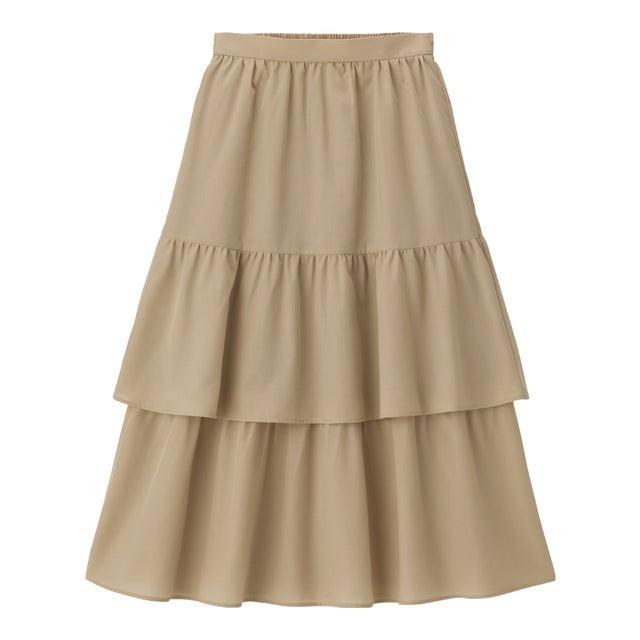gu ティアード スカート