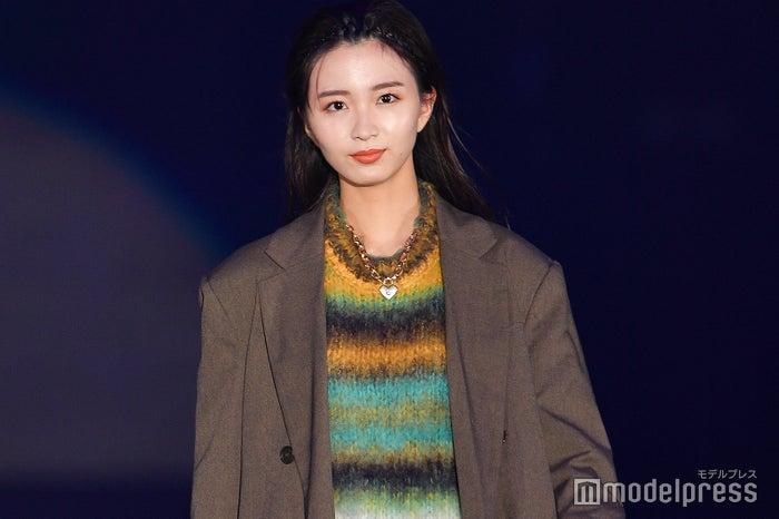 「GirlsAward 2019 A/W」に出演した岡崎紗絵 (C)モデルプレス