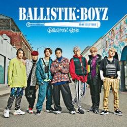 アルバム「BALLISTIK BOYZ」 (5月22日リリース)ジャケット写真(提供写真)