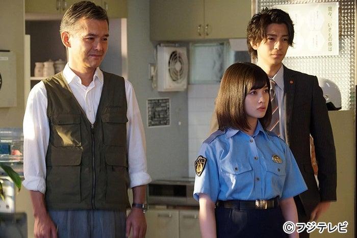 (左から)渡部篤郎、橋本環奈、三浦翔平 (C)フジテレビ