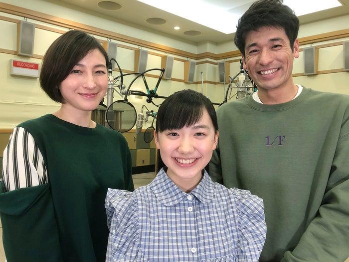 (左から)広末涼子、芦田愛菜、佐藤隆太(写真提供:NHK)