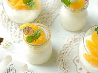市販のジュースで簡単に作れる!ふわふわとろける「お店みたいなオレンジムース」