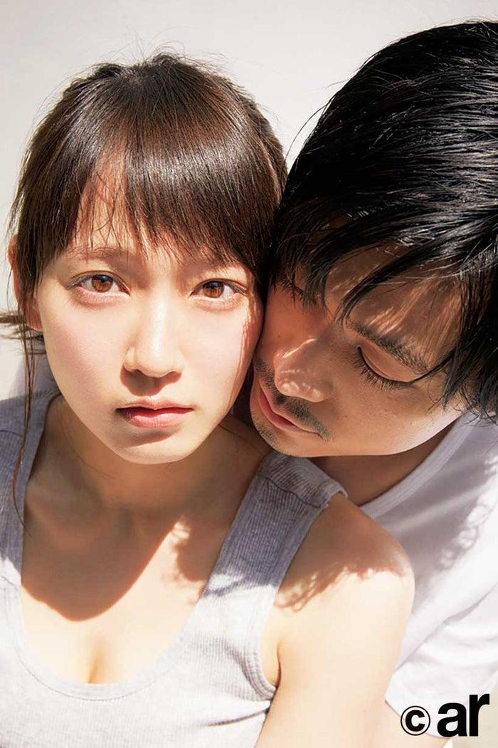 吉岡里帆&成田凌「ar」8月号誌面より/画像提供:主婦と生活社