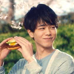 東ヨシアキ 「てりたま『桜の精』篇」より(画像提供:日本マクドナルド)