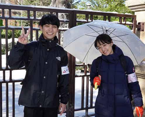 柳楽優弥&井上真央「二月の勝者」クランクイン 真夏にダウンコートで「自分との戦いでした」