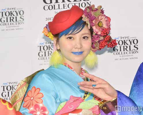 元AKB48岩田華怜、20センチカットでベリーショート姿を初披露 大胆青リップメイクも