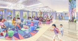 新ディズニーホテルの詳細発表 イルミネーションを堪能