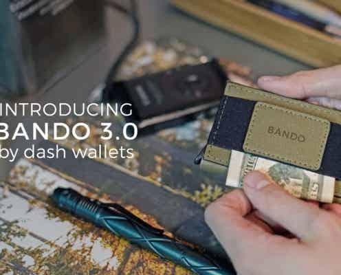 累計売上1.4億円超え!世界最小級財布の最新作。95×65mmサイズに紙幣10枚・カード10枚を収納
