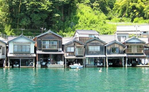 京都・伊根町の舟屋/画像提供:マリントピアリゾート