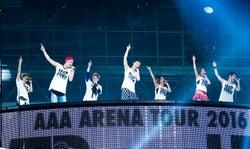 "AAA、過去最大動員数を記録 11年目の""さらなる飛躍""確信のアリーナツアー<ライブレポ>"