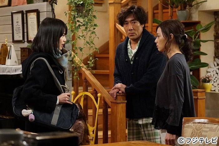 生田絵梨花、岸谷五朗、大塚寧々/『残念な夫。』第6話より