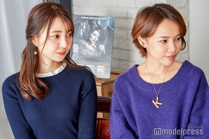 (左から)中田絵里奈さん、小松あやさん(C)モデルプレス