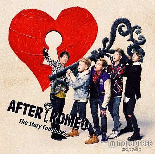 アフター・ロミオの1stアルバム「The Story Continues…」(4月1日発売)初回盤A
