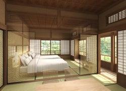 """""""180日限定""""古民家ホテル「鎌倉 古今」が開業へ、築163年の日本家屋を改装"""