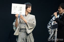 「薔薇」の漢字に苦戦したキャスト陣/久保田秀敏/(C)モデルプレス