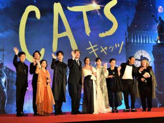 葵わかな、山崎育三郎らがレッドカーペットに登場!映画「キャッツ」ジャパンプレミア