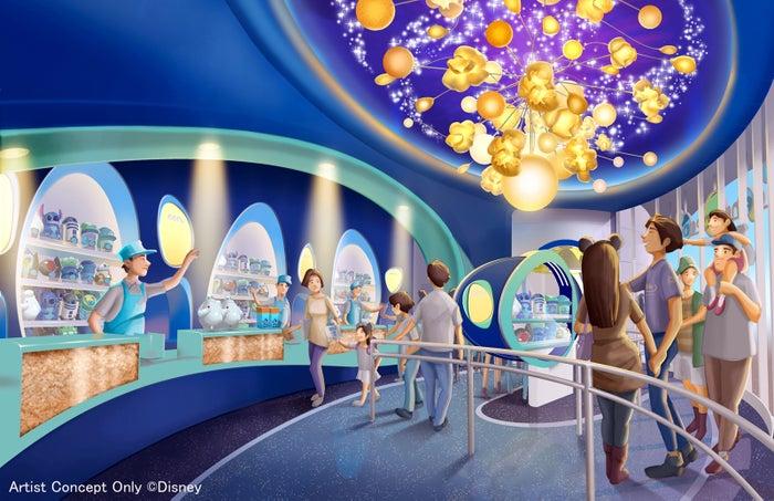 ポップコーンの専門ショップの内観※写真はイメージ(C)Disney