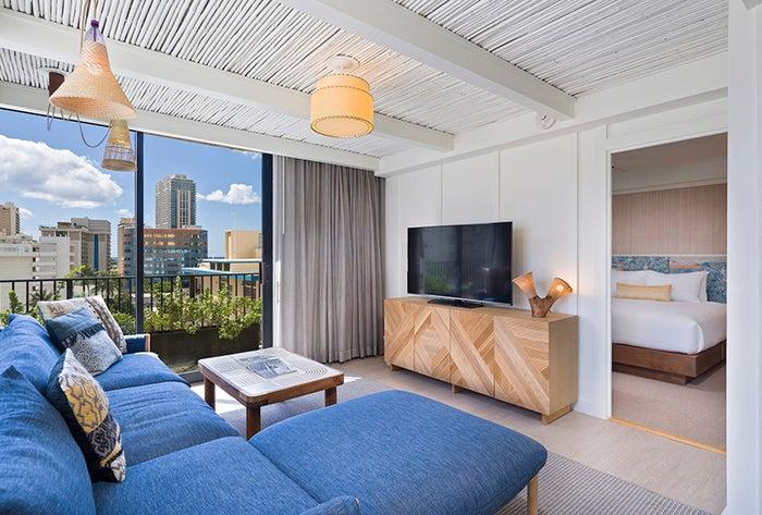 星野リゾート サーフジャック ハワイの客室/画像提供:星野リゾート