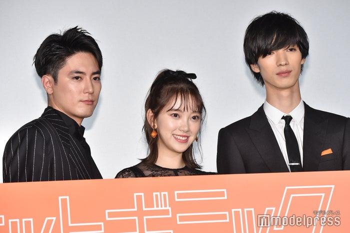 間宮祥太朗、堀未央奈、清水尋也 (C)モデルプレス
