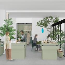 「ブルーボトルコーヒー 京都木屋町カフェ」京漬物サンドイッチやコーヒー提供