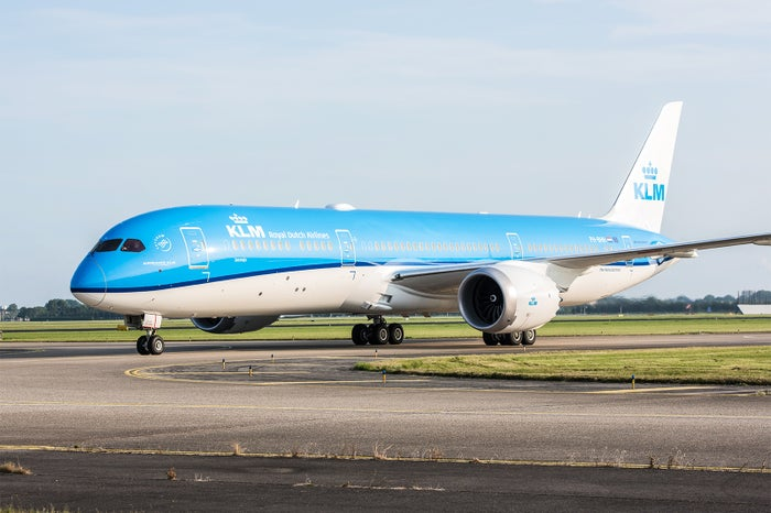 KLMオランダ航空(提供写真)