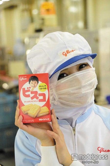 できたてほやほやの「ビスコ」を試食/「saita」3月号より