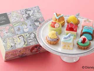 ディズニープリンセスがケーキに変身 乙女心をくすぐる可愛さに発売前から話題に