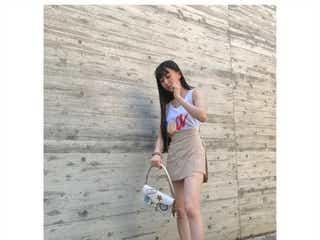 木村拓哉&工藤静香の長女・Cocomi、ミニスカートからスラリ美脚披露 妹愛も覗かせる
