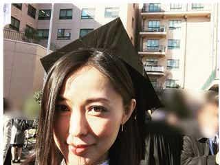 徳澤直子、大学卒業を報告 母・モデル・大学生を掛け持ち
