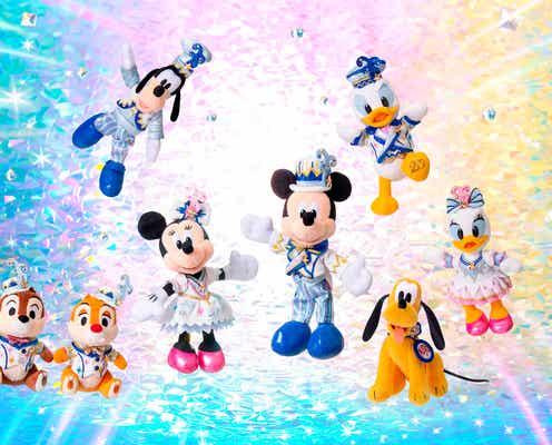 「東京ディズニーシー20周年:タイム・トゥ・シャイン!」グッズ&メニュー公開 初登場のミッキー形ドーナツも