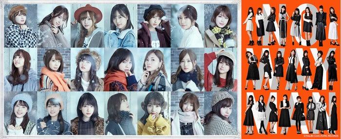 『FNS歌謡祭』に出演する(左から)乃木坂46、AKB48(提供写真)