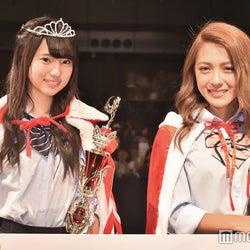 (左から)グランプリ・中町綾さん、準グランプリ・伊藤夏音さん(C)モデルプレス