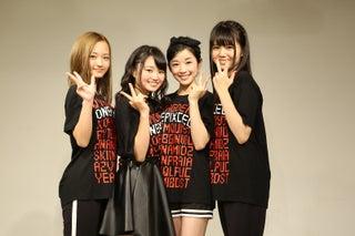 東宝芸能初のガールズユニット・ONEPIXCEL、初挑戦で堂々パフォーマンス 満員の会場は熱気充満