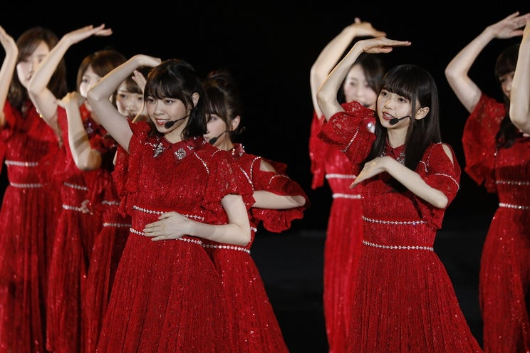 乃木坂46、初の中国ライブ 西野七瀬に「卒業おめでとう」エールも