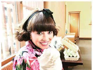 黒柳徹子とデートなう!贅沢ショットに「お茶目」「一緒にパンダ見に行きたい」