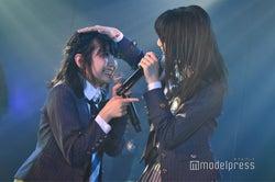 田口愛佳、後藤萌咲/AKB48岡部チームA「目撃者」公演(C)モデルプレス