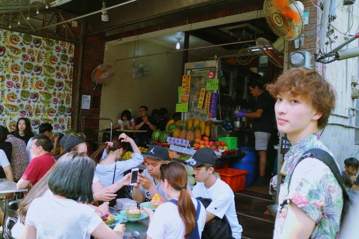 泰成水果店/Shawn/画像提供:所属事務所