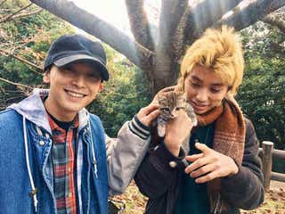 """""""子猫を愛でる吉沢亮&村上虹郎""""に歓喜の声「尊すぎる…」「最高です」"""