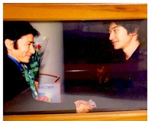 永山瑛太、田村正和さんの言葉を「胸に刻み、俳優人生、続けていきます」共演時の握手ショットも