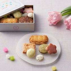 大人女子の上品ギフトに!春らしいデザインがかわいいミニ缶入りクッキー