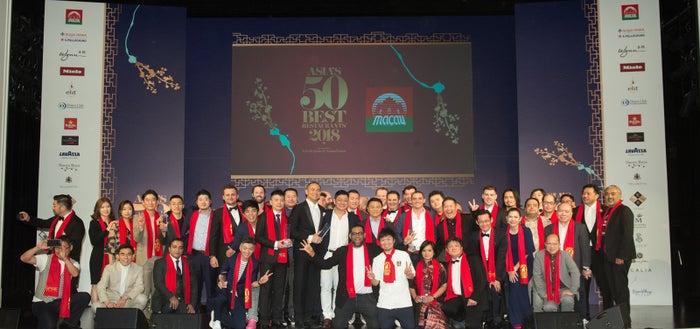 第6回「アジアのベストレストラン50」の表彰式/画像提供:アジアのベストレストラン50