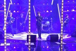 「Good Time Music」に出演したBREAKERZ(左から)SHINPEI、DAIGO、AKIHIDE(画像提供:TBS)