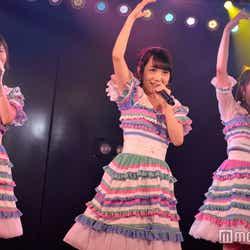 込山榛香、向井地美音、入山杏奈/AKB48「サムネイル」公演(C)モデルプレス