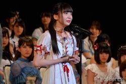 モデルプレス - NGT48荻野由佳、速報1位から順位は?<第9回AKB48選抜総選挙>