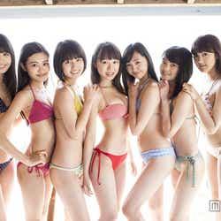 モデルプレス - 国民的美少女軍団・X21、水着グラビア初披露「恥ずかしかった」