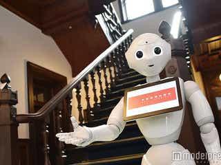"""人間型ロボットPepperの活躍ぶりがすごい 京都・西本願寺と""""歴史の融合"""""""