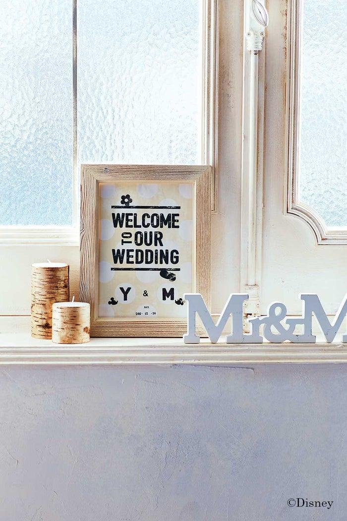 結婚式の思い出を飾ろう